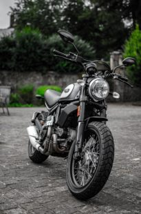 Theme for iPhone and Android - ducati scrambler 800