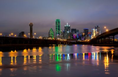 night in Dallas