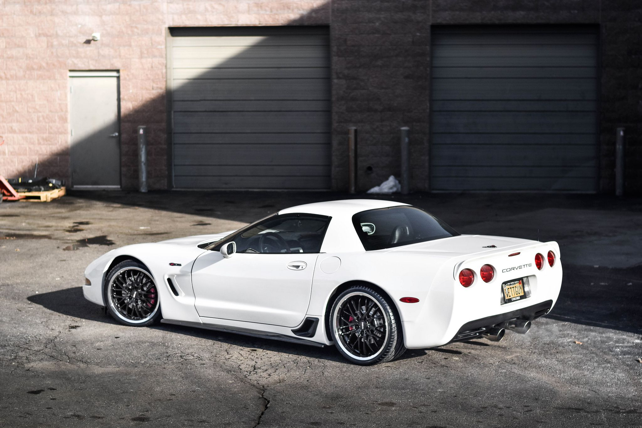 Chevrolet C5 Corvette Z06 - rear-side view