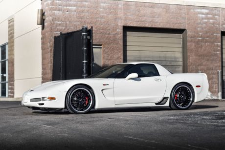 Chevrolet C5 Corvette Z06 - side view