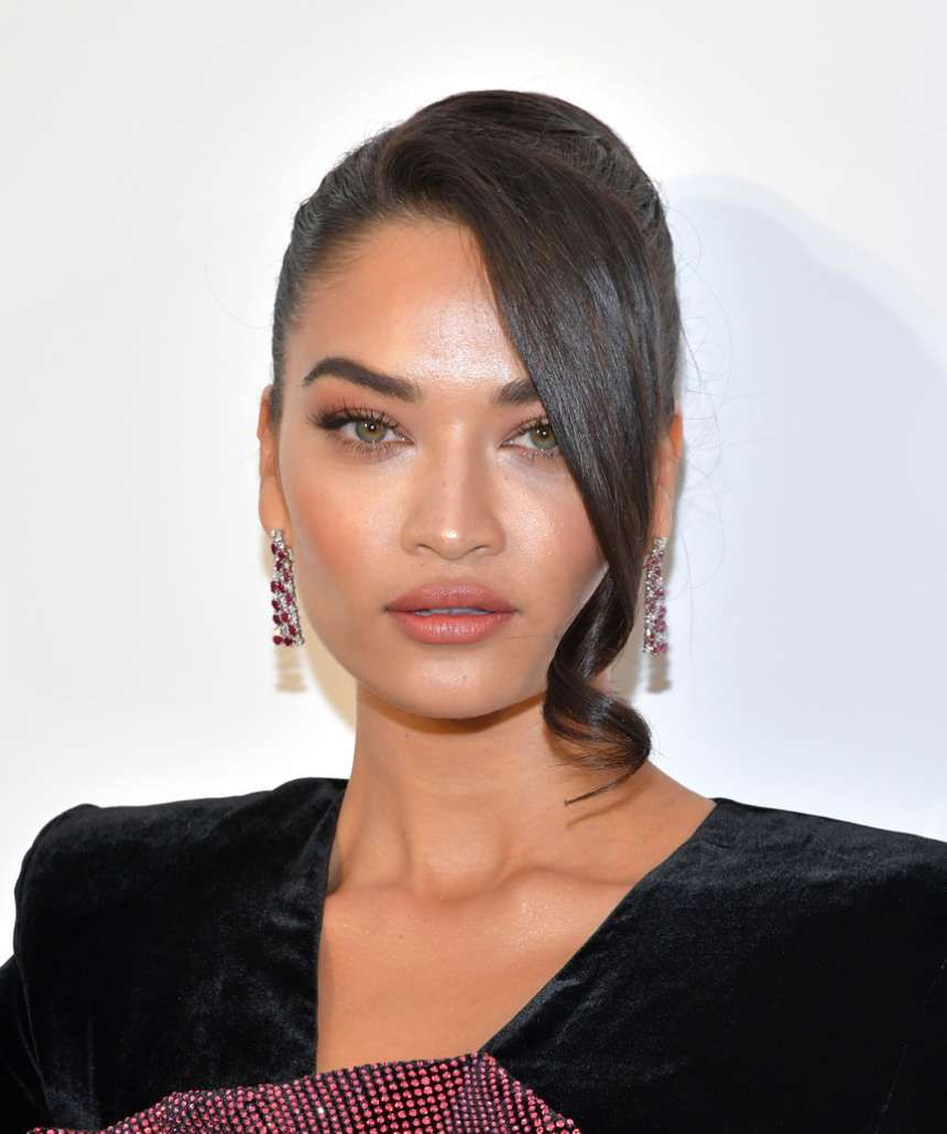 Photo 05: Shanina Shaik at the AIDS Foundation Academy Awards in Los Angeles