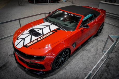 Photo 06: 2019 Chicago Blackhawks Chevrolet Camaro 2SS Convertible