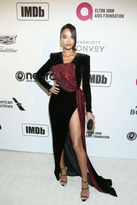 Photo 06: Shanina Shaik at the AIDS Foundation Academy Awards in Los Angeles