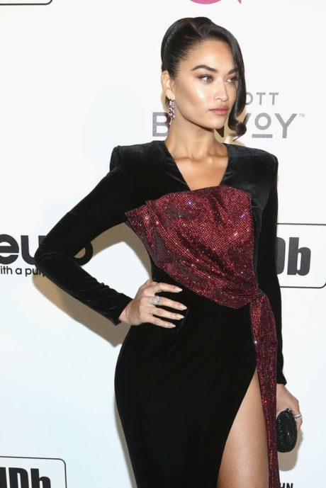 Photo 07: Shanina Shaik at the AIDS Foundation Academy Awards in Los Angeles