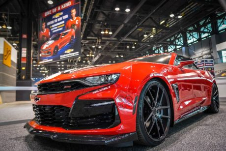 Photo 08: 2019 Chicago Blackhawks Chevrolet Camaro 2SS Convertible