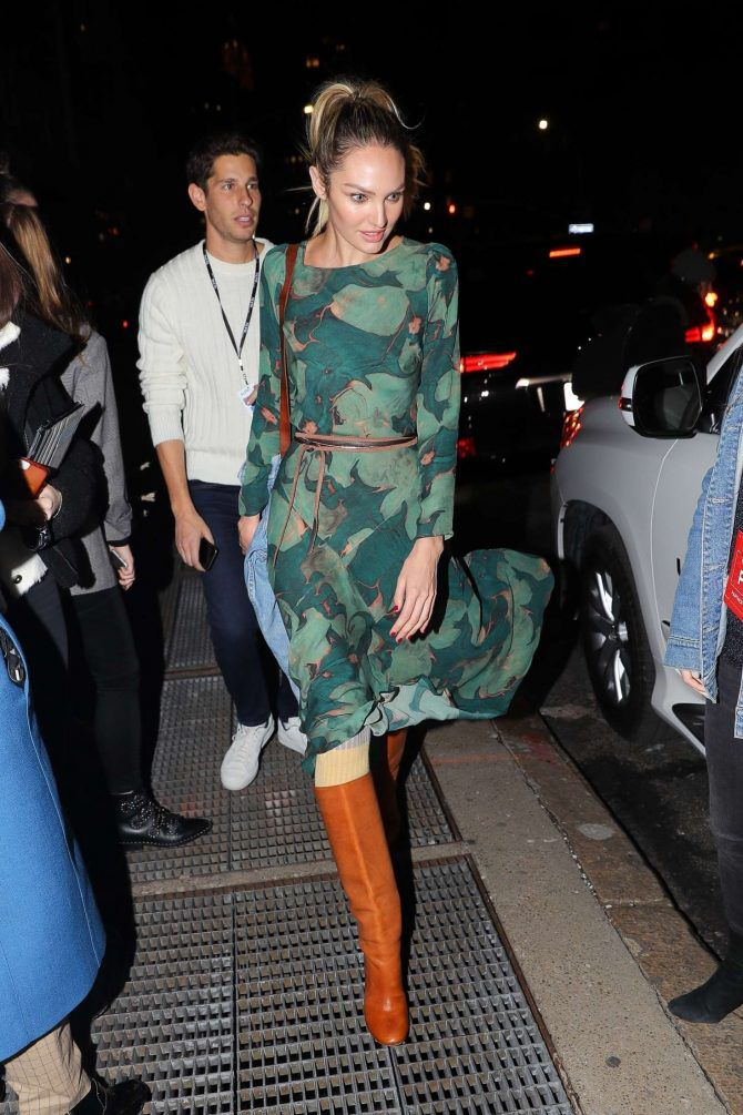 Photo 08: Candice-Swanepoel leaves the Prabal Gurung Fashion Show 11 02 2019