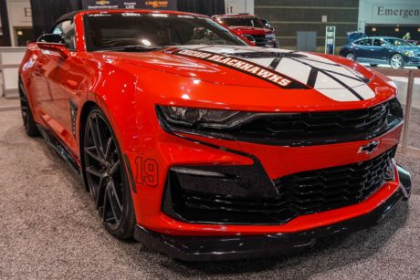 Photo 09: 2019 Chicago Blackhawks Chevrolet Camaro 2SS Convertible