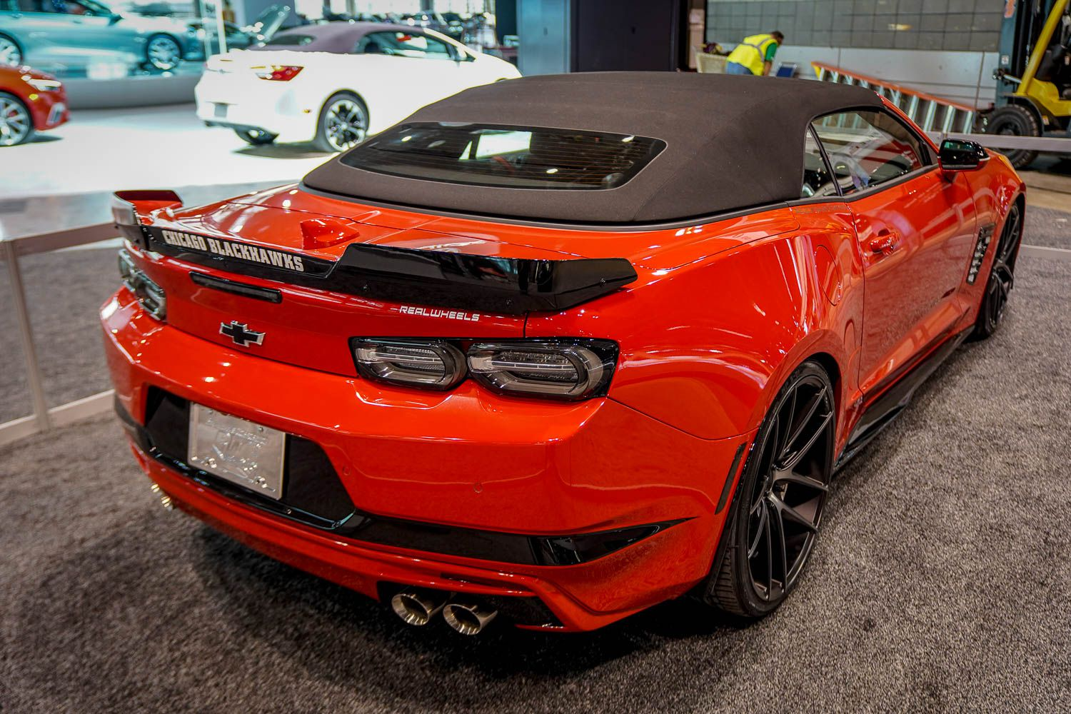 Photo 11: 2019 Chicago Blackhawks Chevrolet Camaro 2SS Convertible