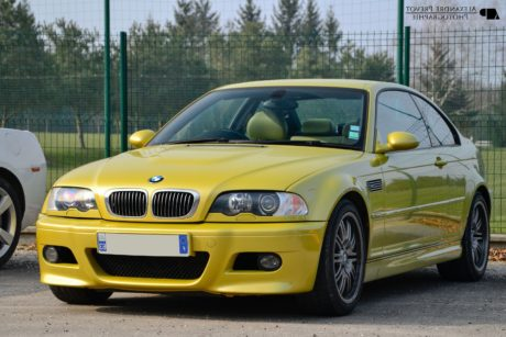 yellow bmw m3 e46 front high quality wallpaper