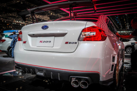 2019 Subaru S209 - rear view