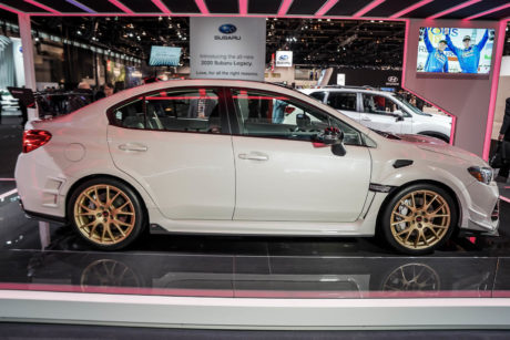 2019 Subaru STI S209 - side view