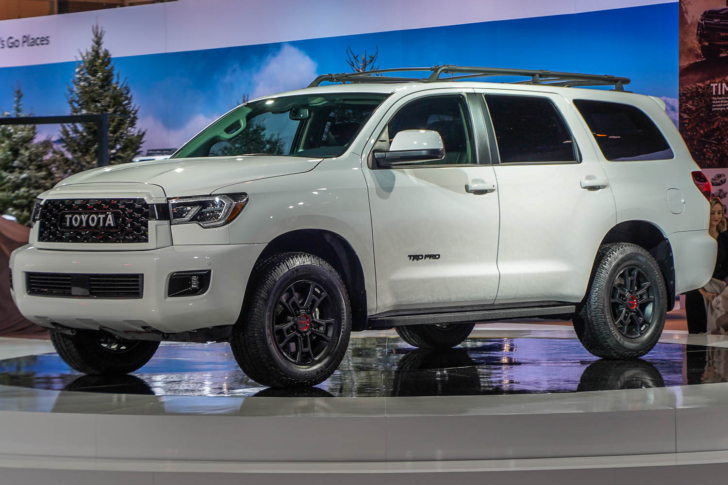 2019 Toyota Sequoia at Chicago Auto Show, February 2019