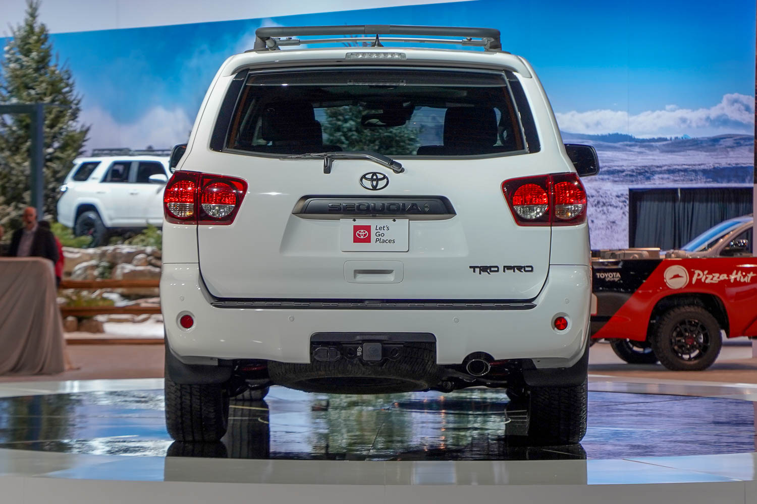 2019 Toyota Sequoia - rear view