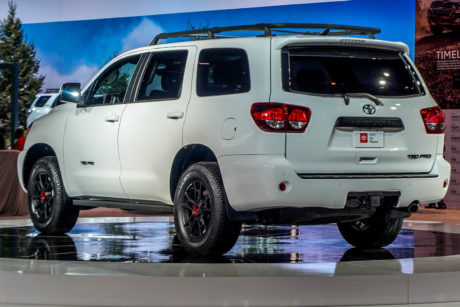 2019 Toyota Sequoia - white colour