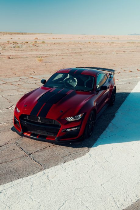 2020 Ford Mustang Shelby GT500 - Android theme