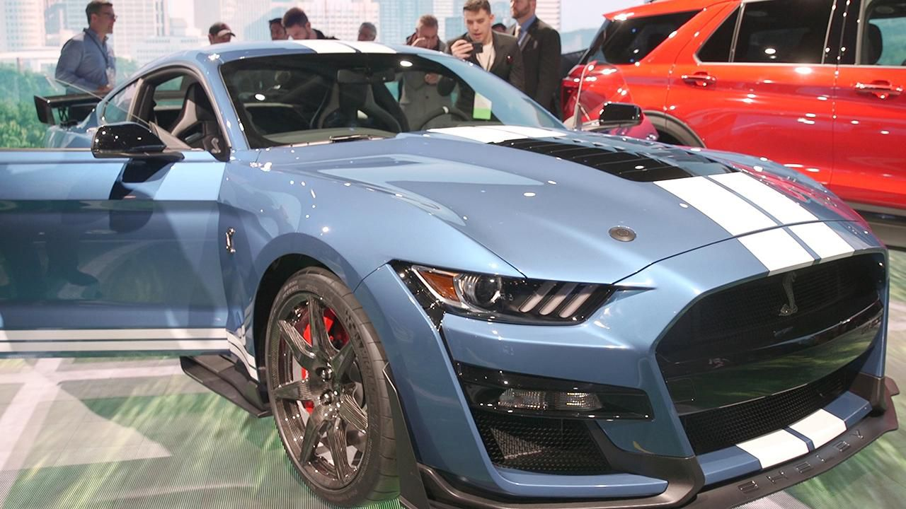 2020 Ford Mustang Shelby GT500 at charity auction
