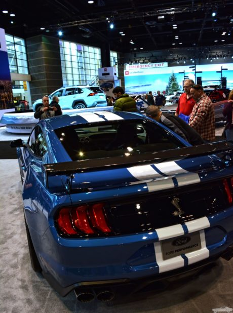 2020 Ford Mustang Shelby GT500 at chicago auto show