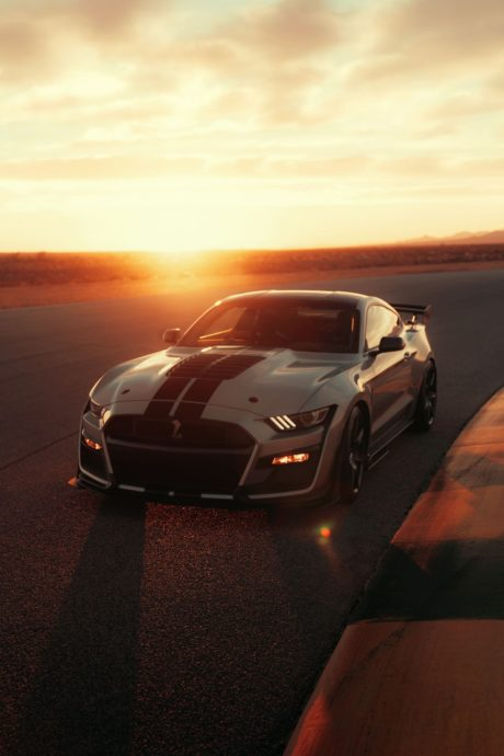 2020 Ford Mustang Shelby GT500 - at dawn