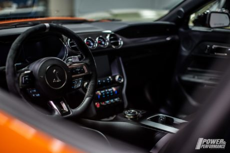 2020 Ford Mustang Shelby GT500 - interior, first look