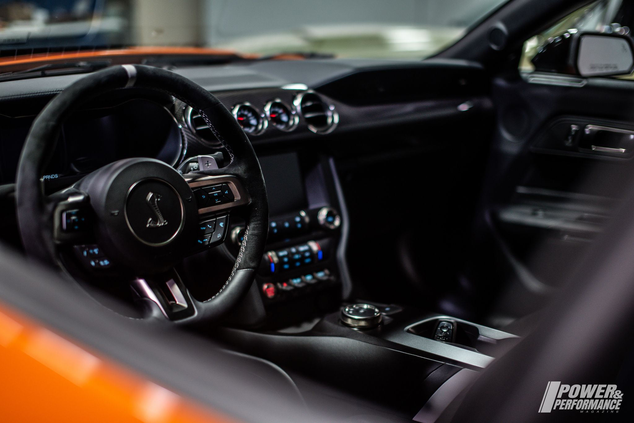 2020 ford mustang shelby gt500 interior first look