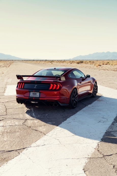 2020 Ford Mustang Shelby GT500 - mobile theme