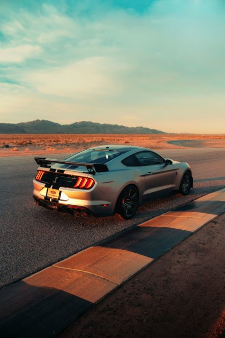 2020 Ford Mustang Shelby GT500 - vertical photo