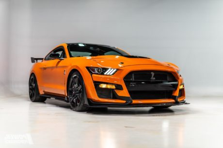 2020 orange Ford Mustang Shelby GT500