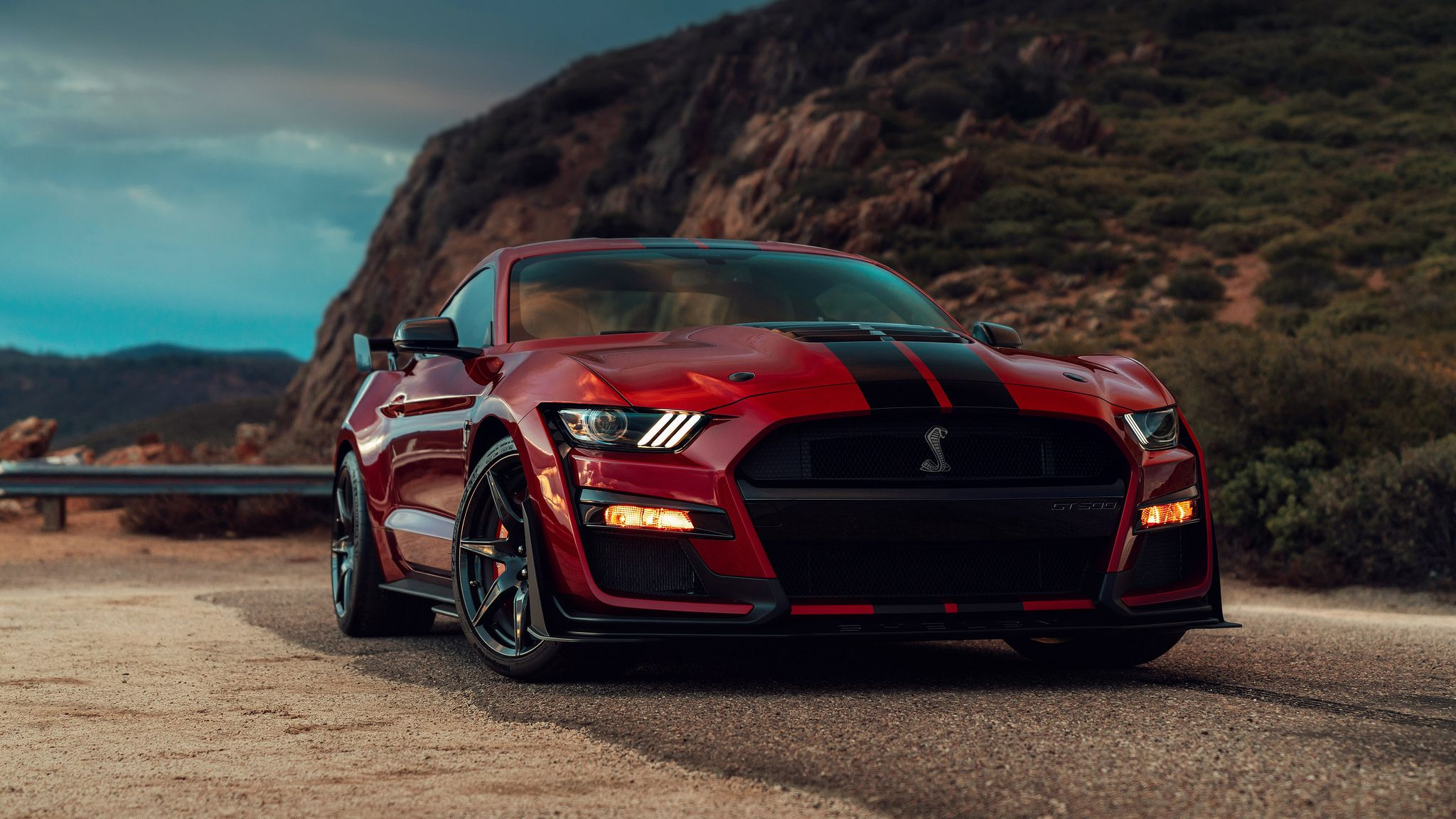 2020 red Shelby GT500