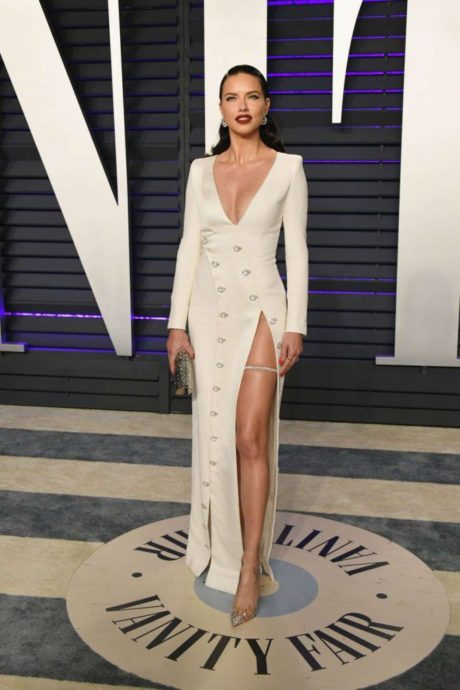 Adriana Lima at 2019 Vanity Fair Oscar Party