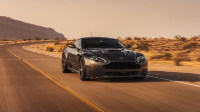 Aston Martin in motion
