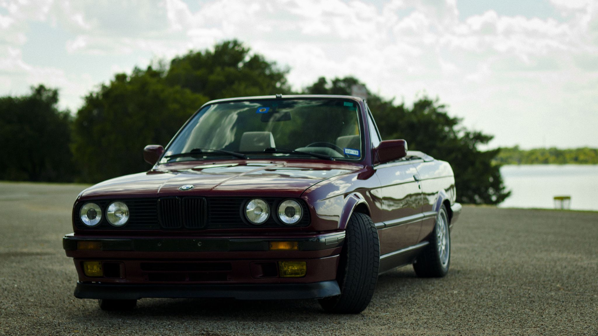 Bmw E30 Front View Hd Image 2