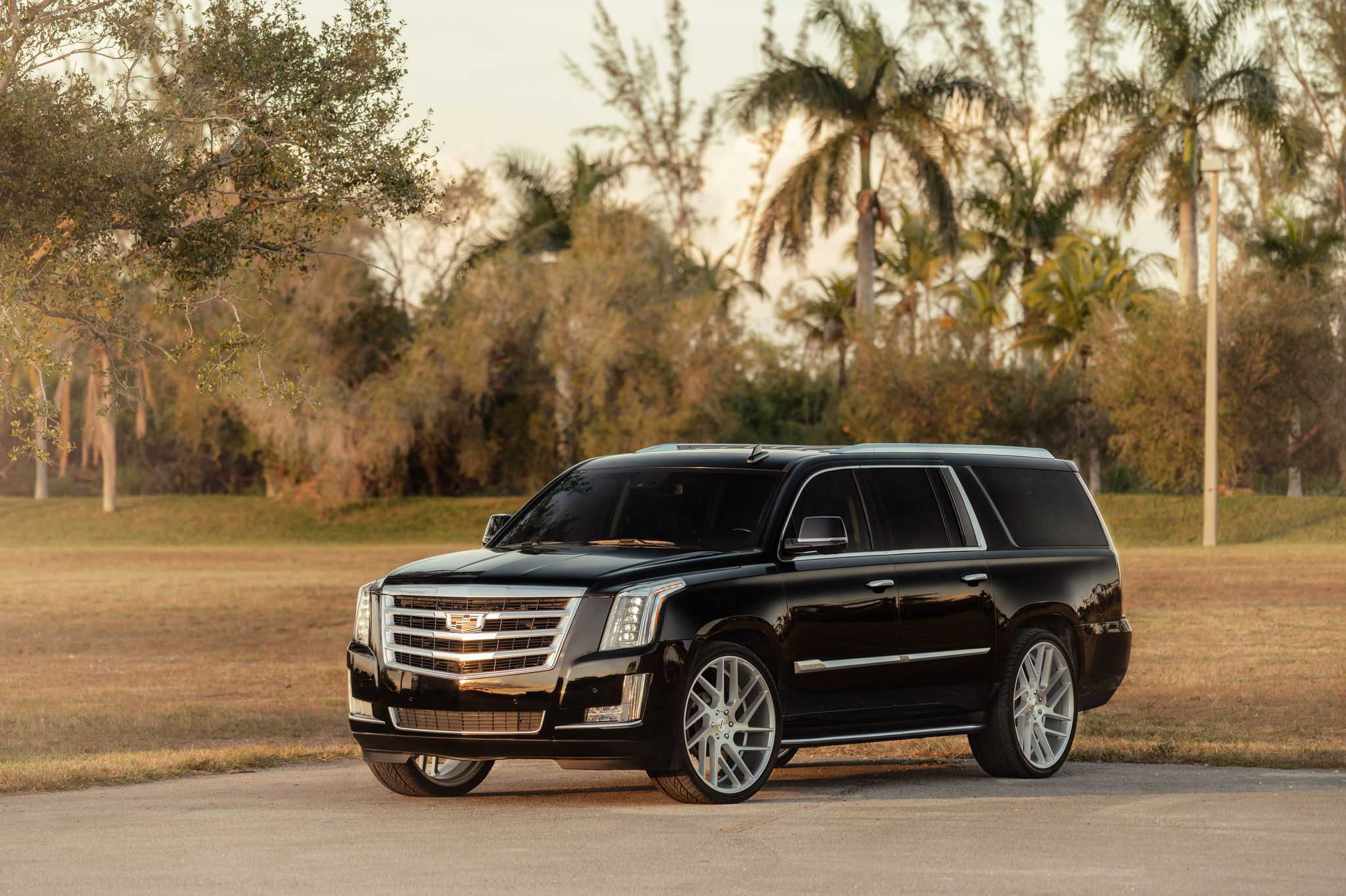 Cadillac Escalade - front-side view