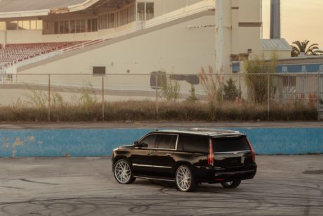 Cadillac Escalade - rear-side view
