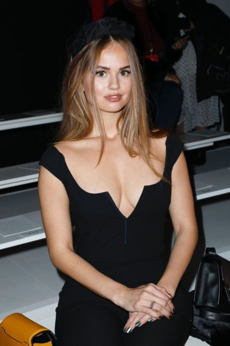 Debby Ryan at the Cushnie front in New York Fashion Week 02.09.2019 01