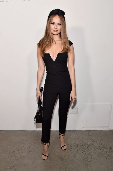 Debby Ryan at the Cushnie front in New York Fashion Week 02.09.2019 05