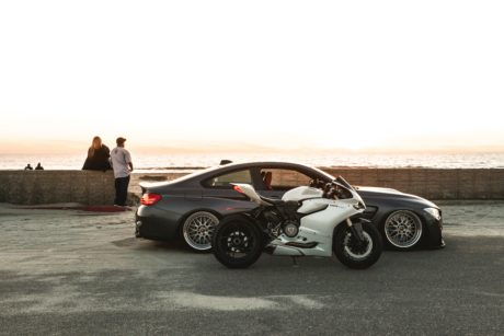 Ducati 1199 Panigale and BMW M4 F82