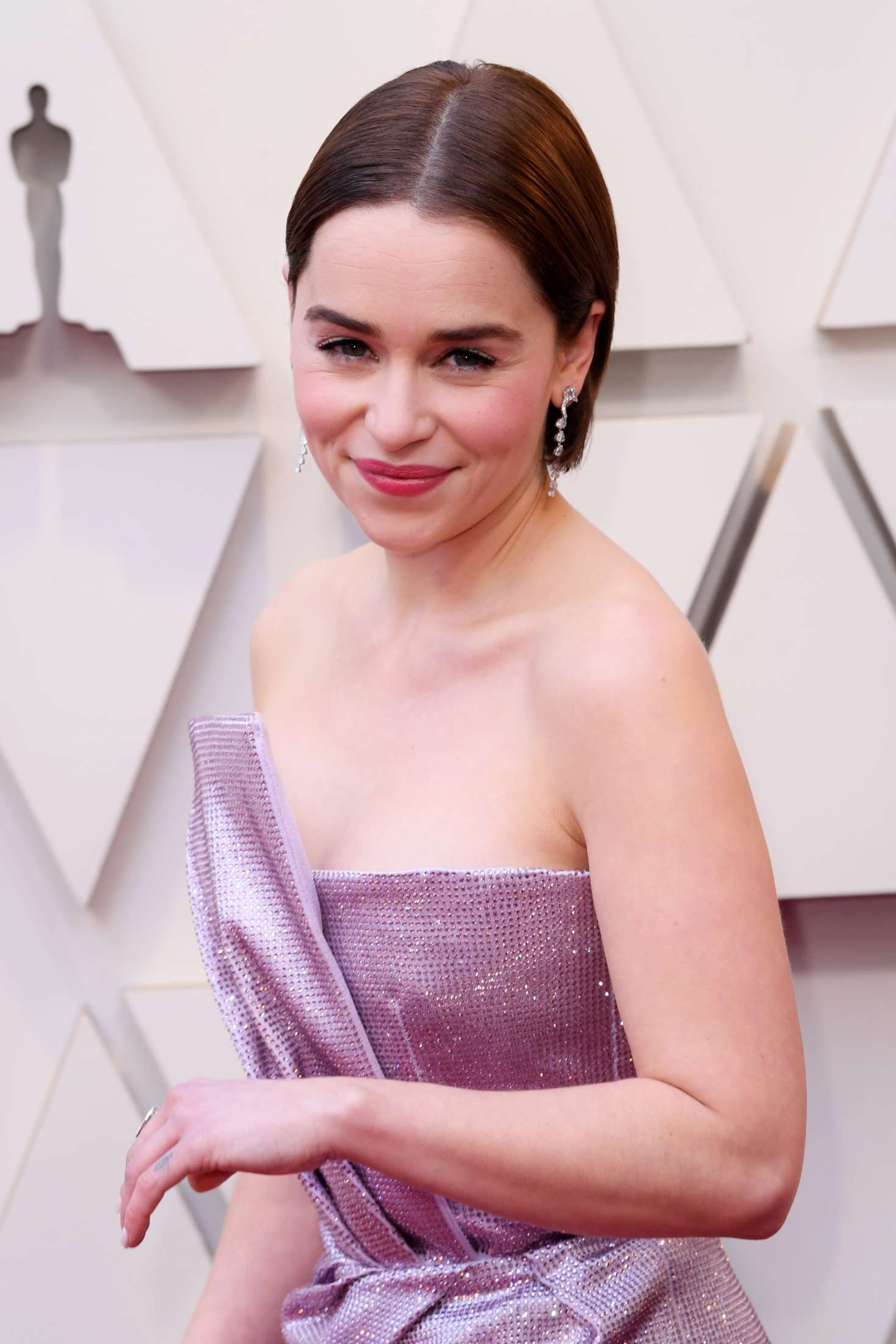 Emilia Clarke - celebrity at the Oscars in Los Angeles, 2019