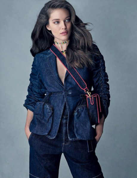 Emily DiDonato, fashion model for Elle Italia