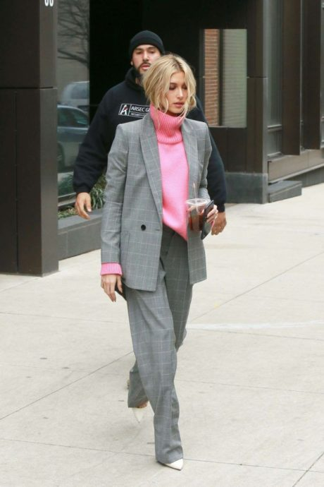 Hailey Baldwin, new street style, New York