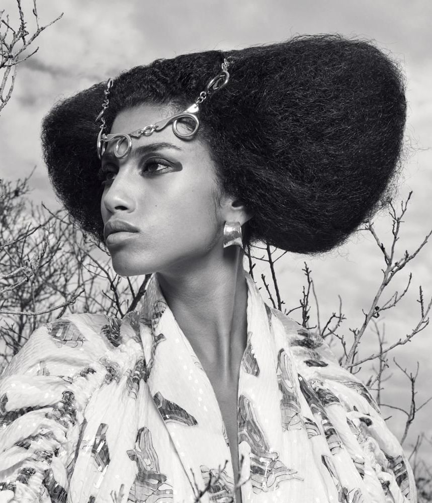 Imaan Hammam (model) - Cleopatra makeup