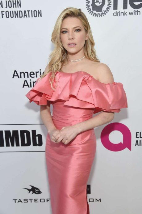 Katheryn Winnick - actress at the Elton John AIDS Foundation Academy Awards, 2019