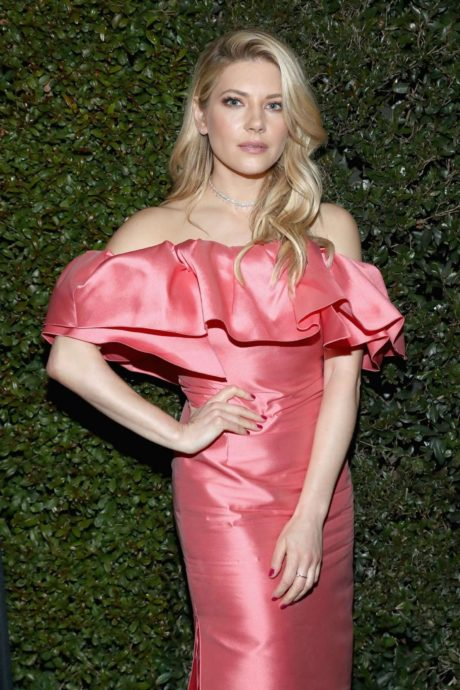 Katheryn Winnick at the Elton John AIDS Foundation Event Academy Awards, February 2019