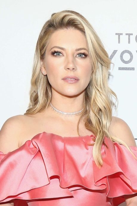 Katheryn Winnick - blonde actress at the Elton John AIDS Foundation Academy Awards, 2019