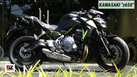 Kawasaki z650 black colour
