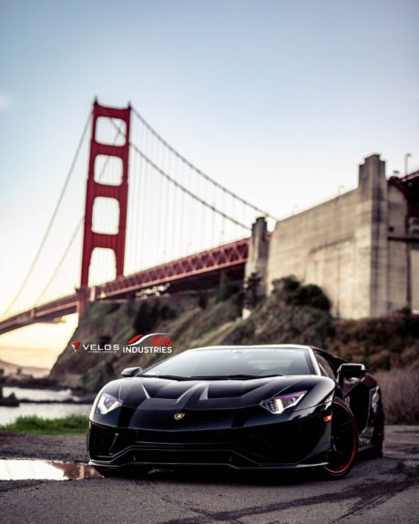Lamborghini Aventador S 2019, Black, Sports Car, by Velos Designwerks