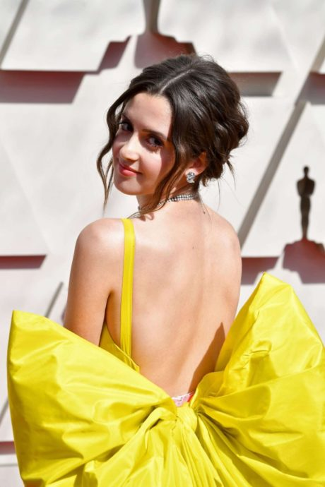 Laura Marano at the annual Oscars event in Los Angeles, February 2019