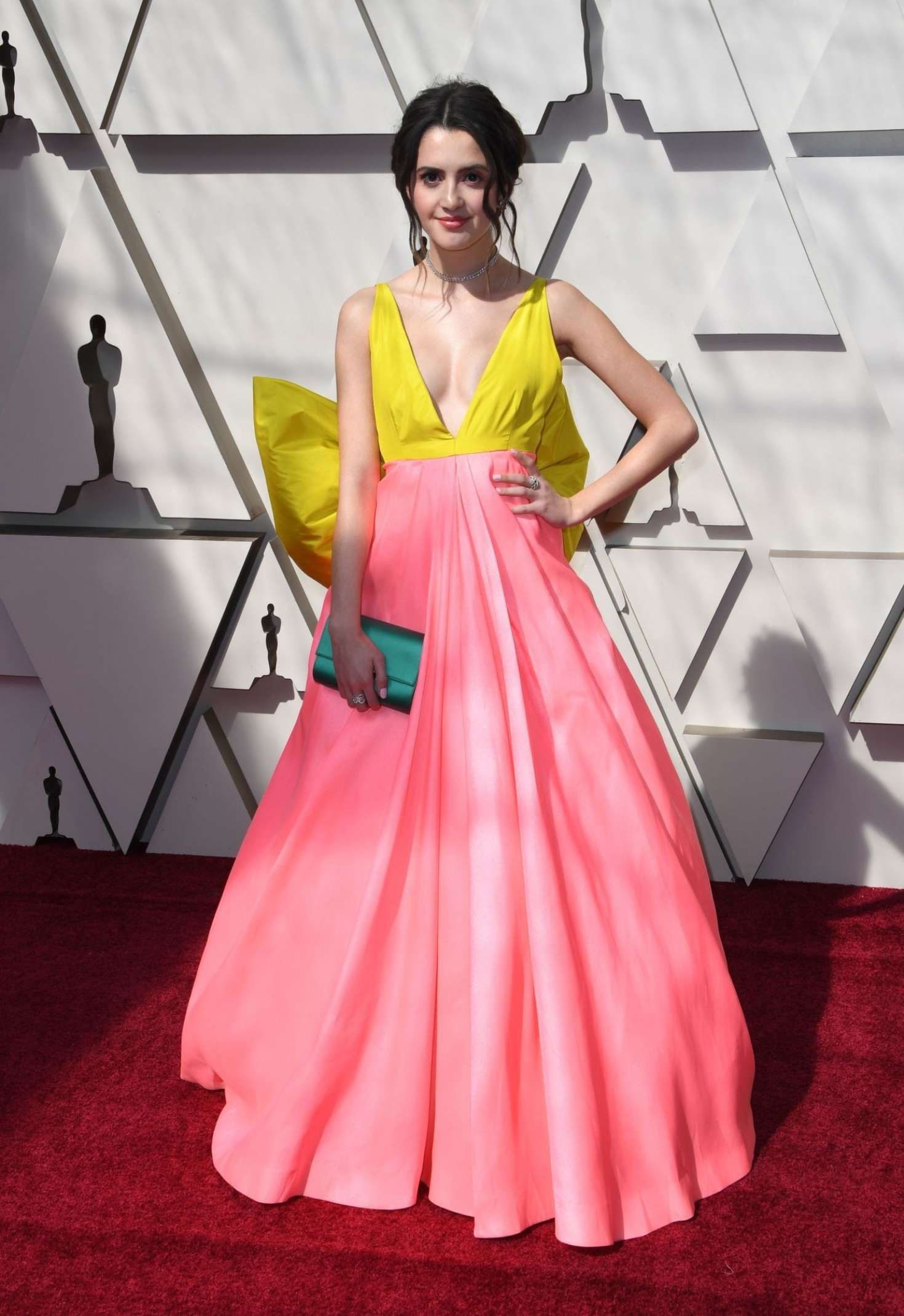 Laura Marano in new dress at the Oscars in Los Angeles, 2019