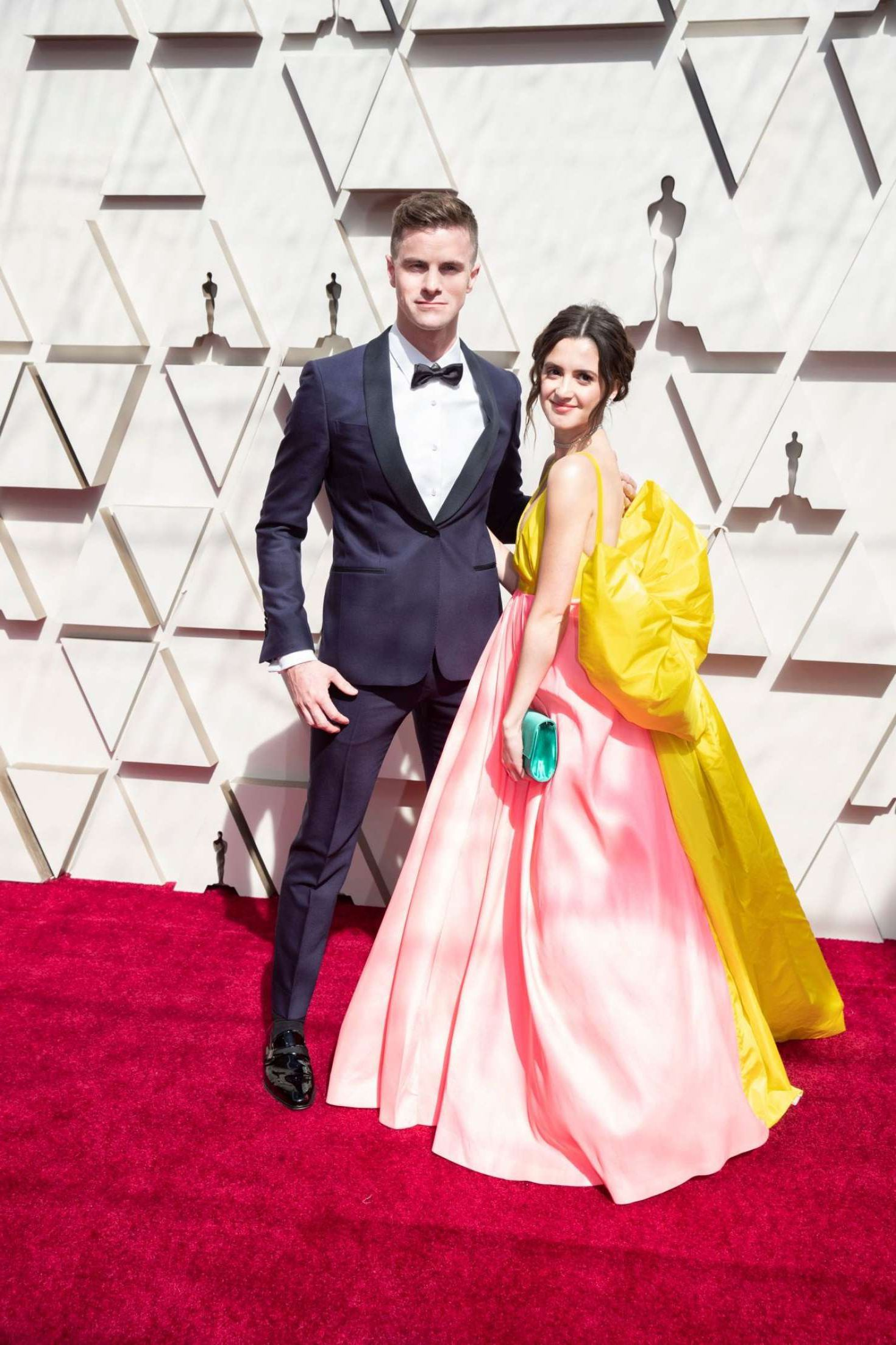 Laura Marano with boyfriend at the Oscars in Los Angeles, 2019