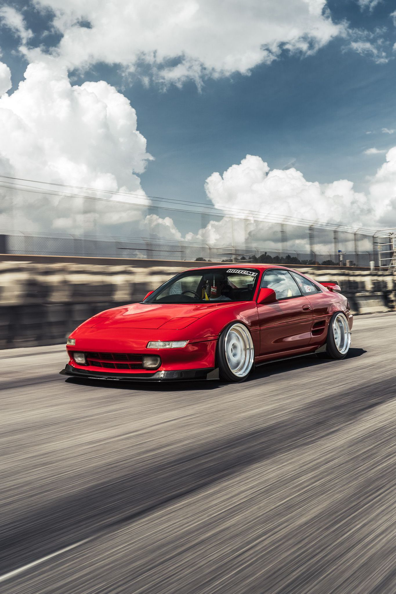 MR2 at speed