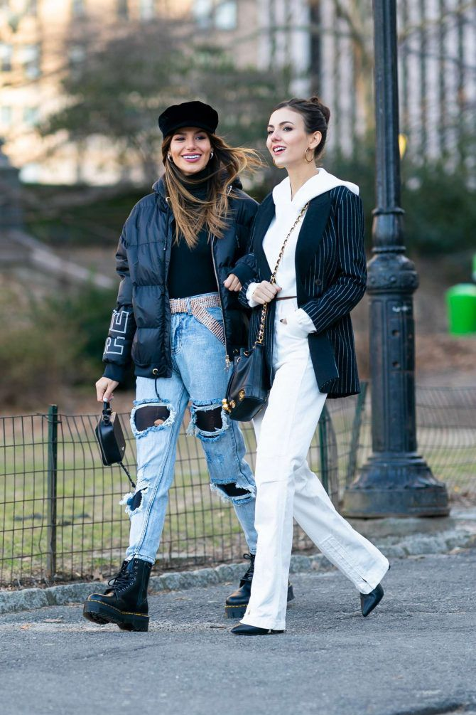 Madison Reed and Victoria Justice 2019